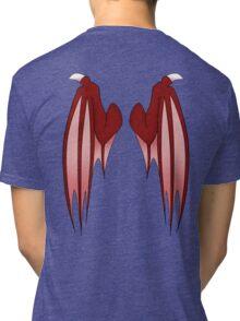 Dragon wings - red Tri-blend T-Shirt