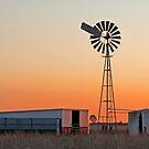 Oakey Sunset 2 Qld Australia by Beth  Wode