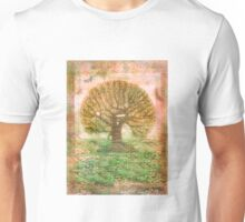 Tree of Life - green sea - earth colours Unisex T-Shirt