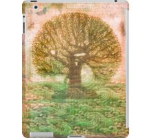 Tree of Life - green sea - earth colours iPad Case/Skin