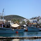 Naoussa ~ Fishing Harbour & Village by SeeOneSoul