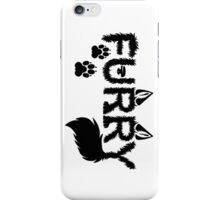 Furry iPhone Case/Skin