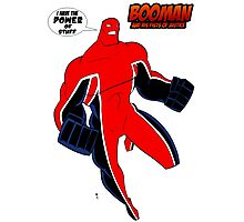 BooMan and the Power of Stuff Photographic Print