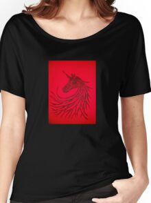 The unicorn of shadows Women's Relaxed Fit T-Shirt
