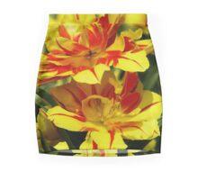 Red & Gold #2 Mini Skirt