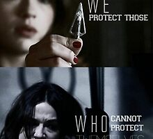 We protect those by blooming-lily