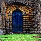 Gated Door by Karen  Betts