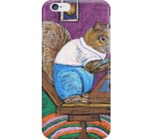 Squirrels on Computers iPhone Case/Skin