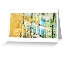 Colour spill Greeting Card