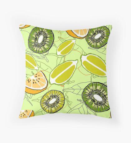 Citrus fruits Throw Pillow