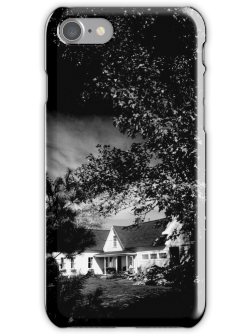 THE MAINE HOUSE - iPHONE CASE by BYRON
