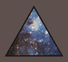 Blue Galaxy Triangle by rapplatt
