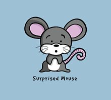 Surprised Mouse Unisex T-Shirt