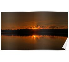 On Golden Pond - Narrabeen Lakes - Sydney - The HDR Experience Poster