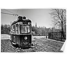 Coatbridge Tram Poster