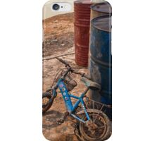 Cambodia. The old bicycle. iPhone Case/Skin