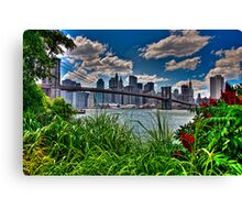 Spring In Brooklyn Bridge Park, NY, USA Canvas Print