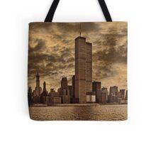 Downtown Manhattan, USA & WTC Towers, Circa 1979 Tote Bag