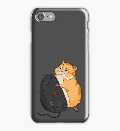 Hamster and a Mouse iPhone Case/Skin