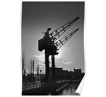 Salford Docks Poster