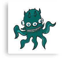 Mutant Squid Canvas Print