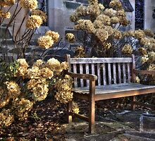 Relax at Aberfoyle Parish Church by Linda  Morrison
