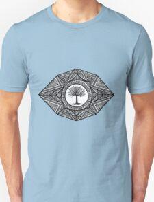 Black and White Landscape Unisex T-Shirt