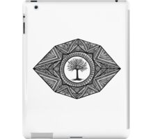 Black and White Landscape iPad Case/Skin