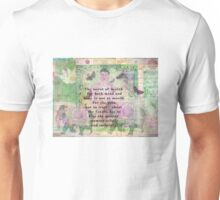 Buddha Quotation about health Unisex T-Shirt