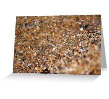 Sand Greeting Card