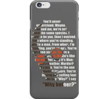 Why bother? iPhone Case/Skin