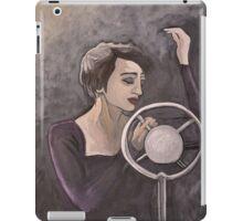 Edith Piaf iPad Case/Skin