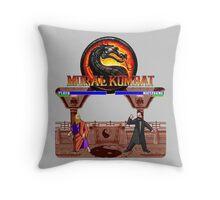 MORAL KOMBAT Throw Pillow