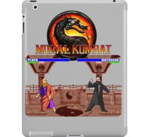 MORAL KOMBAT iPad Case/Skin