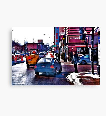 East End Montreal Canvas Print