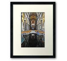 Salisbury Cathedral Interior Framed Print