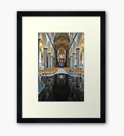 Salisbury Cathedral Interior Framed Print