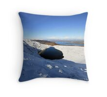 Devils Punchbowl view Throw Pillow