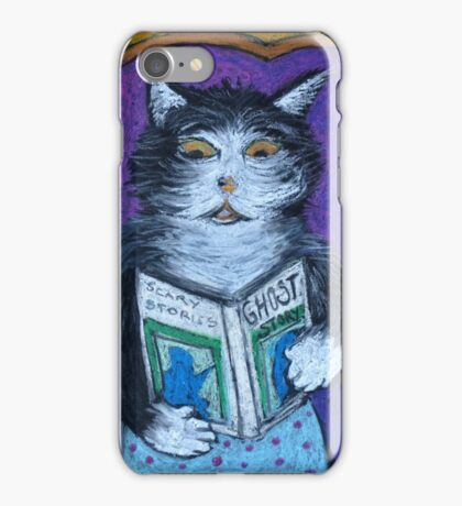 Teddys Scary Book iPhone Case/Skin