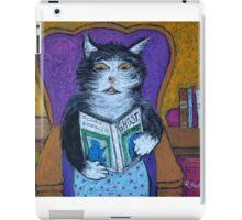 Teddys Scary Book iPad Case/Skin