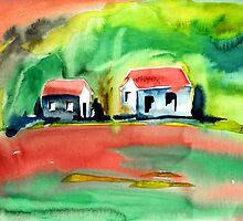 Psychedelic Cottages by WaterGardens