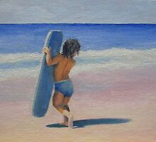boogie board by Beth Johnston
