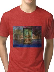 The love of learning, the sequestered nooks, And all the sweet serenity of books. Tri-blend T-Shirt