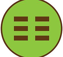 I Ching Earth Trigram ( Kun ) by GalacticMantra