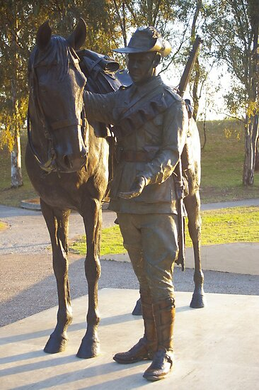 LightHorse Memorial Monument Tamworth NSW  by Craig Stronner