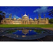 The Royal Pavilion at Sunrise, Brighton, UK Photographic Print
