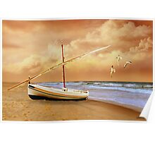 Soft Sunrise on the Beach 10 Poster