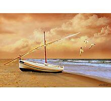 Soft Sunrise on the Beach 10 Photographic Print