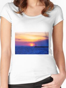 Moving On Women's Fitted Scoop T-Shirt