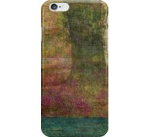 Autumn Landscape in yellow, red, and orange iPhone Case/Skin